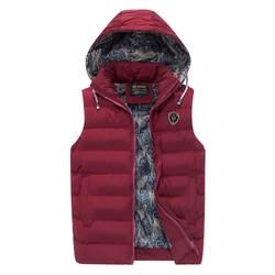 Новинка 2018 года демисезонный куртка без рукавов для мужчин модные теплые с капюшоном мужской зимний жилет свет s работы Жиле