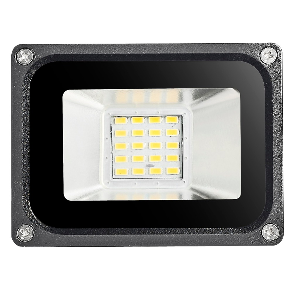 1Pc LED Flood Light 10W 20W 30W 50W 100W Floodlight IP65 Waterproof 260V LED Spotlight Refletor LED Outdoor Lighting Garden Lamp led flood light 200w ip65 waterproof ac85 265v led spotlight refletor outdoor lighting led floodlight garden lamp landscape