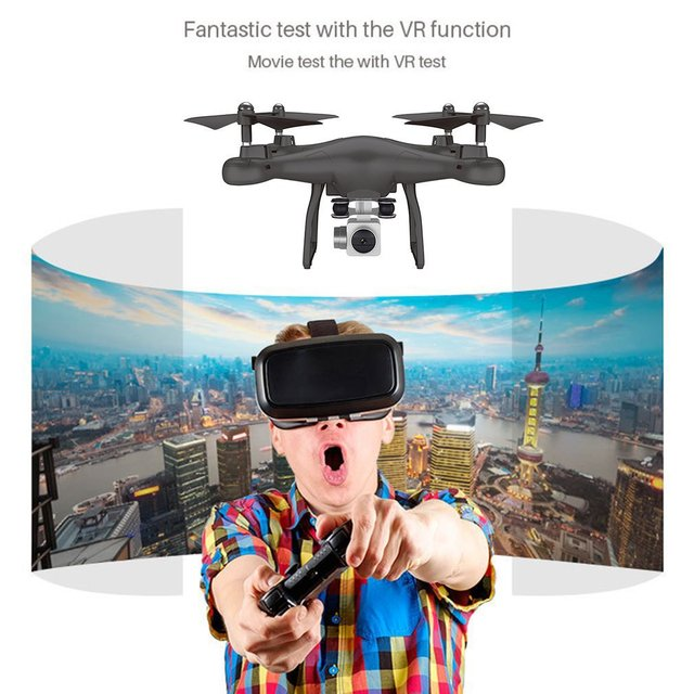 S10 2.4Ghz Quadcopter 0.3MP Camera WIFI FPV Headless Mode One Key Return Altitude Hold RC Drone Remote Control Airplane Toys