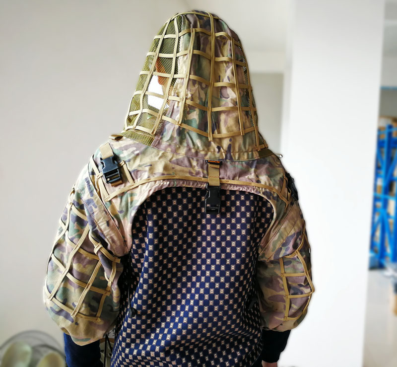 MC Military Sniper Ghillie Airsoft Paintball Ghillie Viper Hood Combat Ghillie Suit Foundation Camouflage Assaulter Ghillie Suit