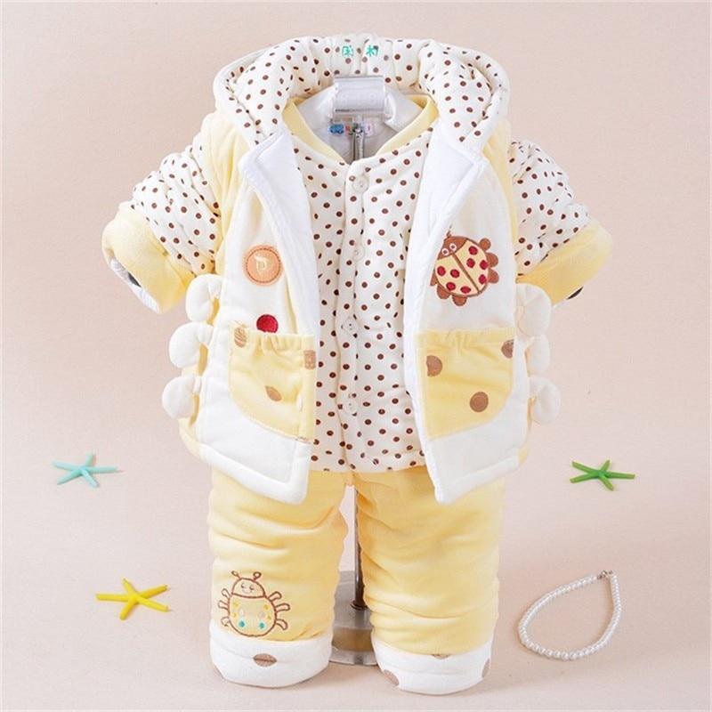 ФОТО New 2016 Baby Set Winter/Spring Baby Boy Girl Animal Coat Thick Polar Fleece Horse+Pants Warm Outerwear Clothing Sets TZ-02