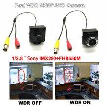 HD 8550 P AHD Мини Цвет CCTV Starlight камеры скрытого видеонаблюдения Sony290 + 1080 реальные WDR Супер широкий динамический дома безопасности видео камера
