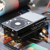 SAOMAI SM4 High Resolution DAC Lossless Portable MP3 Player HIFI Music Player HA1 Headphone Amplifier Support