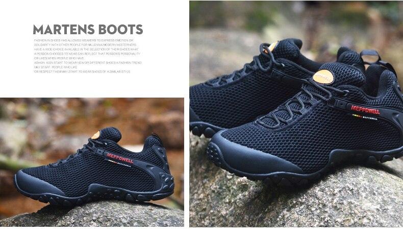 High Quality trekking shoes men