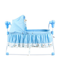 Small Electric Baby Cradle Concentretor Cradle Bed Sleeping Basket Shook His Baby Bed Baby Bed Plus