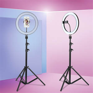 Tycipy LED Selfie Ring Light for iphone Smartphone Makeup 24 W 5500 K Studio Photography