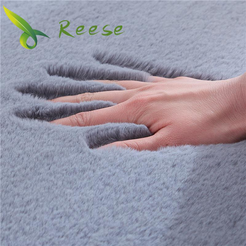 Hot Sale Super Soft Shaggy Plush Carpet Rug For Living Room Large Super Soft Faux Fur Bedroom Carpets Kids Room Home Floor Mats