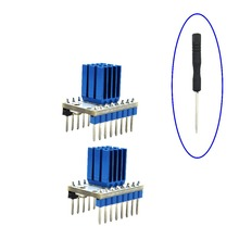3D принтер части 10 шт/Лот МКС TMC2 10 0 V1.3 Драйвер шагового двигателя StepStick Совместимость с 32 бит контроллер lerdge материнская плата