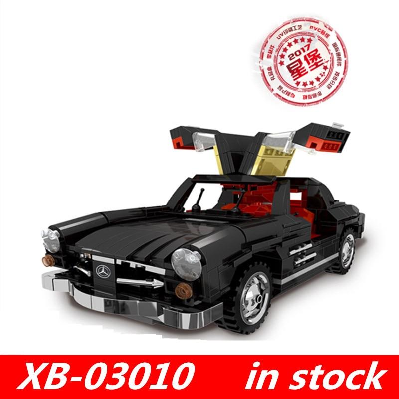цена XingBao 03010 xingbao Block Creator MOC Technic Series The Photpong Car Set lepin technic Building Blocks Toys for child