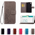 Leather Phone Case Wallet Cover For Sony Xperia Z1 Z2 Z4 Z3 Z5 Compact XA XA1 XA2 XP L1 L2 XZ XZ1 Compact E3 E4 Flip Stand Book