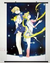 Домашнего декора аниме сейлор мун сейлор плакат стены прокрутки звезда в форме сердца косплей 052
