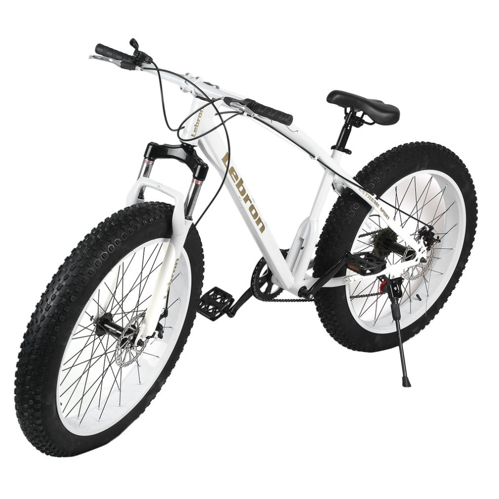 26 Inch 7/21/27speed Cross-country Mountain Bike Aluminum Frame Snow Beach 4.0 Oversized Bicycle Tire Dirt Bikes for Men & Women