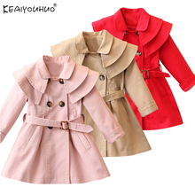 2019 Autumn Windbreaker For Girls Coat Kids Jackets For Girl