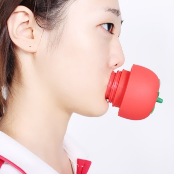 1PC Tomato Sexy Full lip plumper Enhancer lips plumper tool device Or Super Suction Family Body Cupping Cups Massage silicone фото