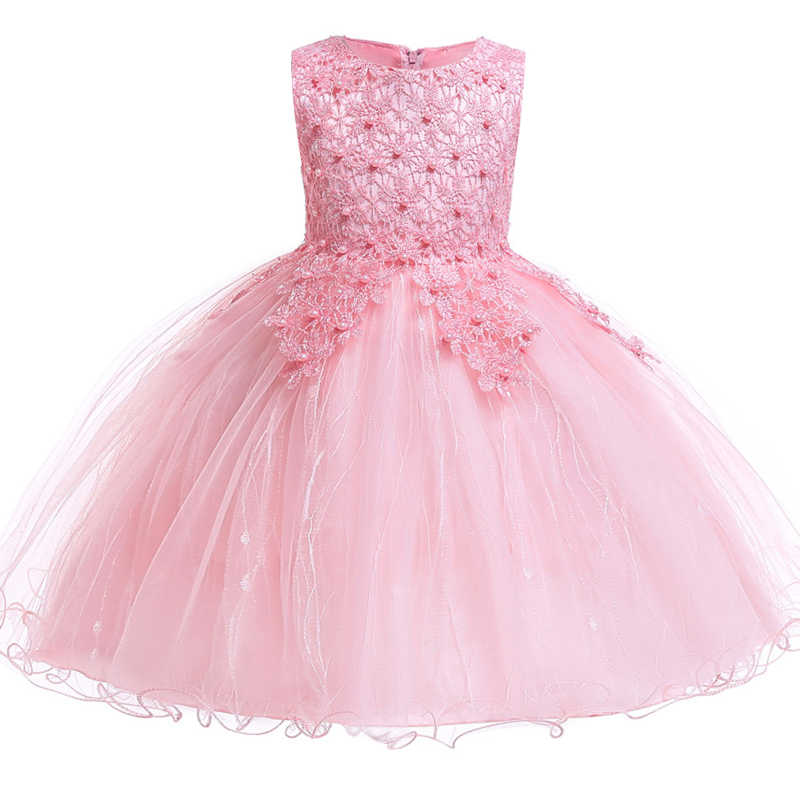 Girl Flower Girl Romantic Wedding Party Dresses Girl Dresses for Birthday Party First Petal Dresses vestidos de fiesta