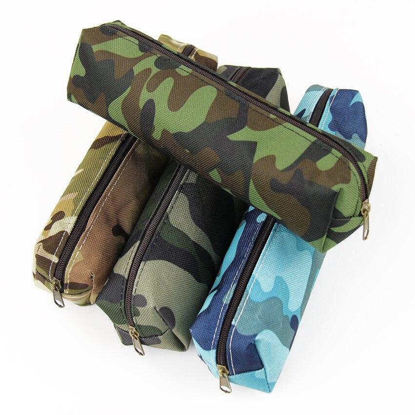 2PCS Camouflage Pencil Case School Supplies Colorful Zipper Pouch Office Supplies Pencil Bag