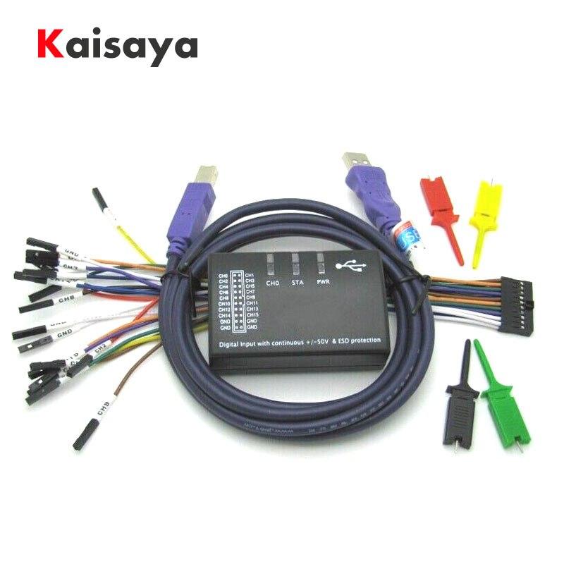 new USB Logic 100MHz 16Ch Logic Analyzer for ARM FPGA E4 004