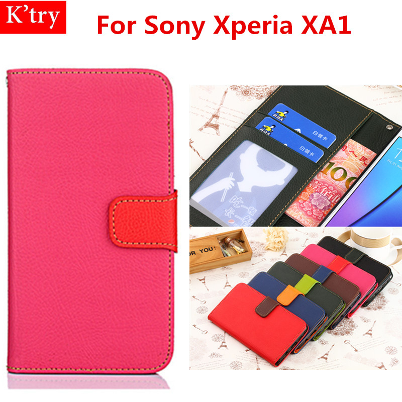 Fundas Para Sony Xperia XA1 Case Original Luxury PU Leather Covers Wallet Phone Bags Cases For Sony XA1 5.0 inch Coque