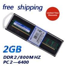 KEMBONA Brand New Sealed LONGDIM DESKTOP DDR2 2GB 800Mhz 2G (for all motherboard ) PC2 6400 2GB for Desktop RAM Memory