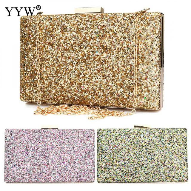 Evening Handbag Shoulder Chain Wallet