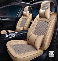 Высокое качество! Полный набор сиденье автомобиля чехлы для Audi Q5 2017 2011 прочные модные удобные Чехлы для Q5 2015, Бесплатная доставка