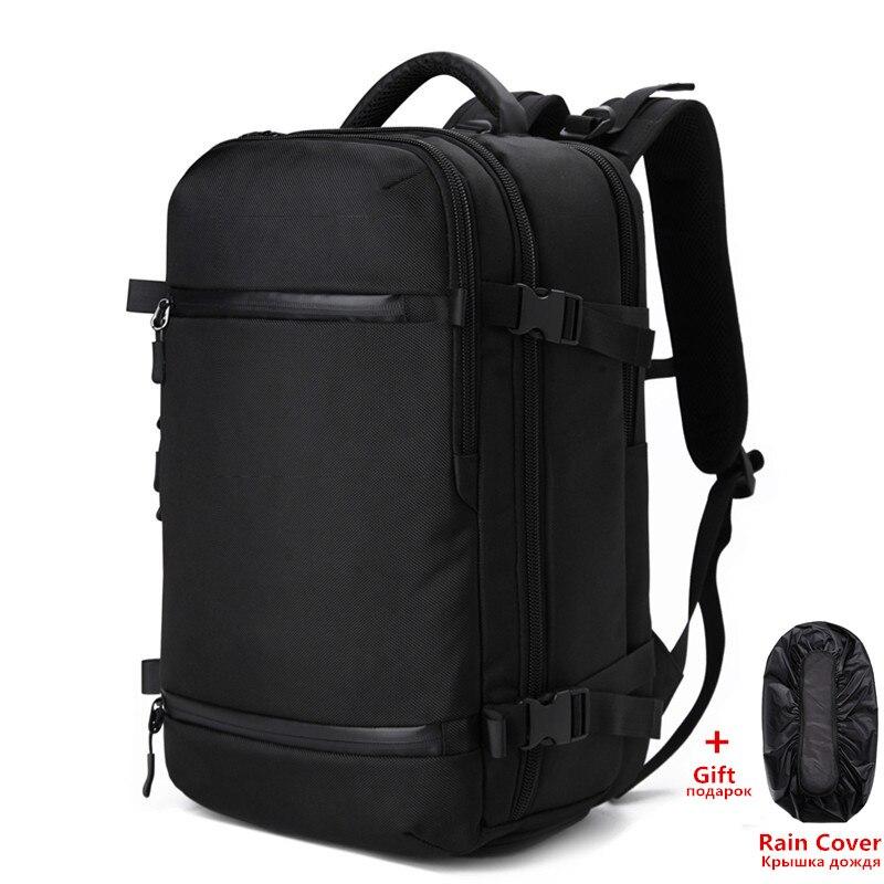 OZUKO SAC À Dos Hommes voyage pack Sac Mâle Bagages Sac À Dos USB Grande Capacité Multifonctionnel Étanche pour ordinateur portable sac à dos Femmes AER