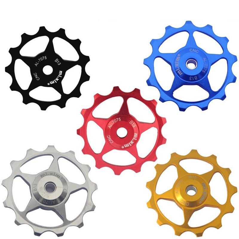 2pcs Alloy Rear Derailleur Pulley 11T //10T Jockey Wheels Shimano SRAM RED BLACK