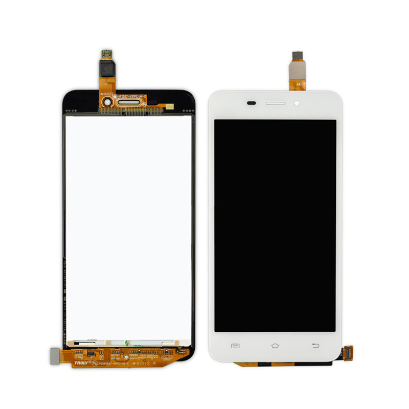 Digital Mobile Phone Replacement//Replace LCD Screen White Color : White Touch Screen TFT Materials LCD Screen and Digitizer Full Assembly with Frame for Vivo X9