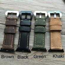 Goosuu 38mm 42mm apple watch band, projeto especial de relógio de couro cinta, para iwatch apple watch, livre shiping