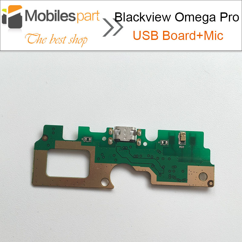 Blackview <font><b>Omega</b></font> Pro USB Board+Microphone High Quality Replacement assembly Fixing part Accessories for Blackview <font><b>Omega</b></font> Pro