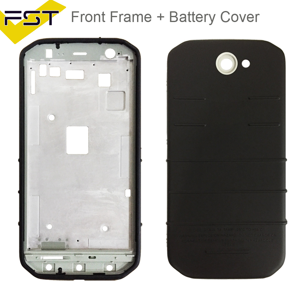 Us 350 2pcslot For Caterpillar Cat S31 S 31 Front Frameback Battery Housing Rear Door Cover For Cat S31 Front Housing With Back Cover In Mobile