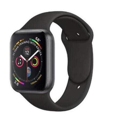 Montre intelligente bluetooth sports42mm taille 1:1 série 4 montre intelligente avec bouton rouge boîtier en alliage pour téléphone intelligent iOS Android