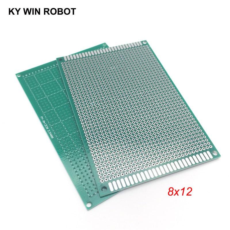 1pcs 8x12cm 80x120 Mm Single Side Prototype PCB Universal Printed Circuit Board Protoboard For Arduino