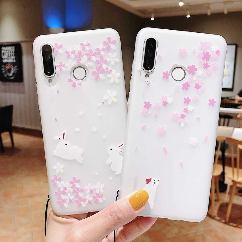 Flower animal Case For Samsung Galaxy A7 2018 A9 A10 A20 A30 A40 A50 A60 A70 M10 M20 S8 S9 S10 Plus 10E Cartoon Silicone Case