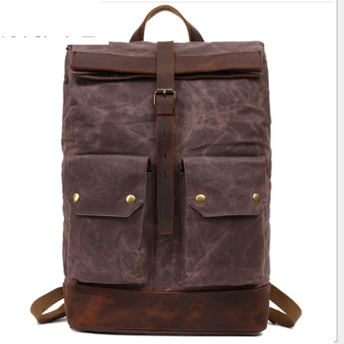 High Quality Waterproof Backpack Men Canvas Travel Shoulder Rucksack Vintage Large Capacity Youth Boy Laptop Backpack School Bag стоимость