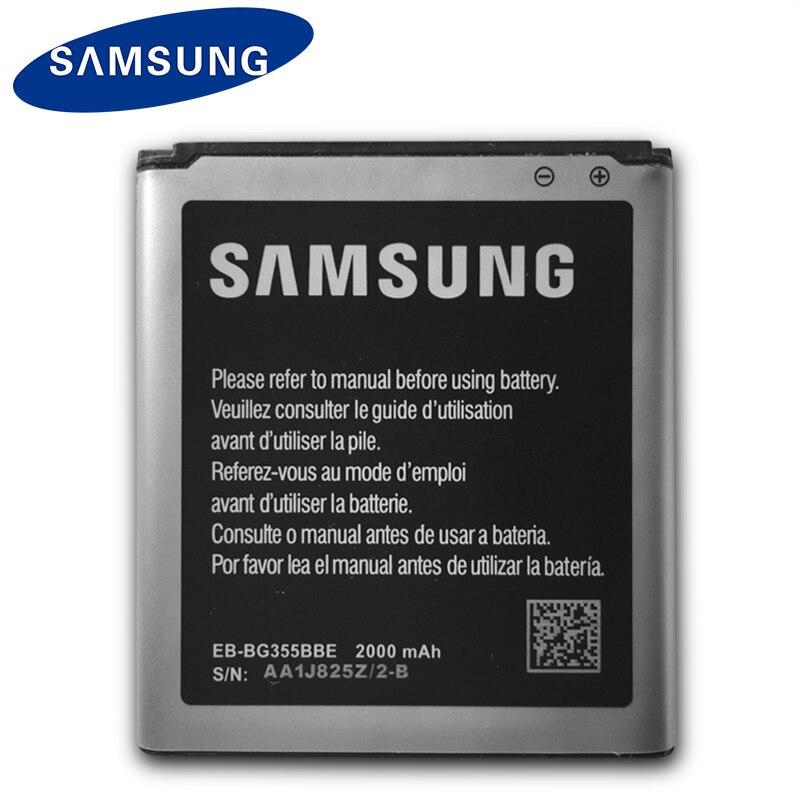 Original Samsung Phone Battery For Samsung Galaxy Core 2 G355H SM-G3556D G355 G3559 G3558 G3556D EB-BG355BBE 2000mAh With NFCOriginal Samsung Phone Battery For Samsung Galaxy Core 2 G355H SM-G3556D G355 G3559 G3558 G3556D EB-BG355BBE 2000mAh With NFC