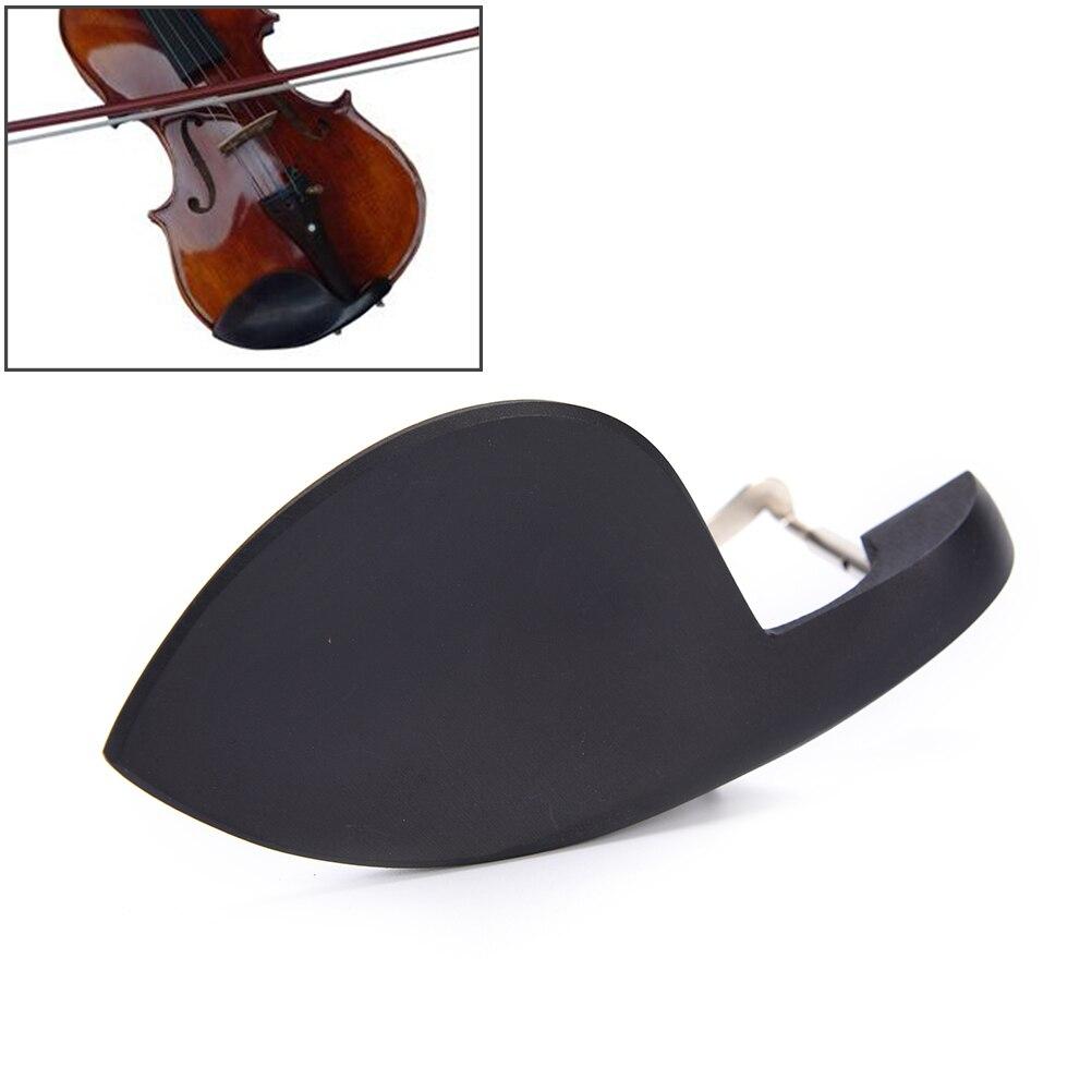 4/4 Violin Chin Rest Chinrest Jujube Wood With Standard Bracket Violin Parts Accessories
