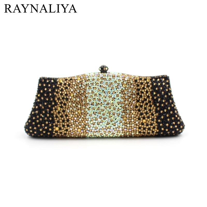 New Women Evening Bags Ladies Wedding Party Clutch Bag Crystal Diamonds Purses Fashion Panelled Minaudiere Smyzh-e0103 women luxury rhinestone clutch beading evening bags ladies crystal wedding purses party bag diamonds minaudiere smyzh e0193 page 7