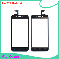 Touch Screen 5 Inch For ZTE Blade L4 Digitizer Panel Mobile Phone Touch Panel Replacement Parts Free Shipping