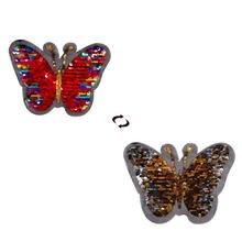 Shinequin двухсторонние нашивки с бабочкой для одежды «сделай