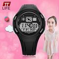 TTlife Brand School Season Primary School Students Waterproof Wrist Watches Children Casual LED Display Watch Kids Alarm Watches