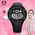 TTlife Brand School Season Primary School Students Waterproof Wrist Watches Children Casual LED Display Watch Kids Alarm Watches