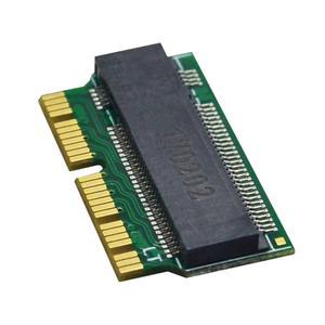 Image 4 - NVMe PCIe M.2 M ключ SSD адаптер карта расширения поддержка PCI Express 3,0 X4 для Macbook Air 2013 2014 2015