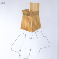 Wood Cutting Die Cut for Gift Box 343# Making Steel Rule Dies Can Be Made As Your Shape and Size