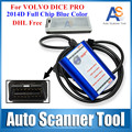 DHL Free Shipping 2016 Newly For VOLVO DICE PRO 2014D Supports J2534 Protocol & Firmware Update For VOLVO VIDA DICE PRO+ Blue
