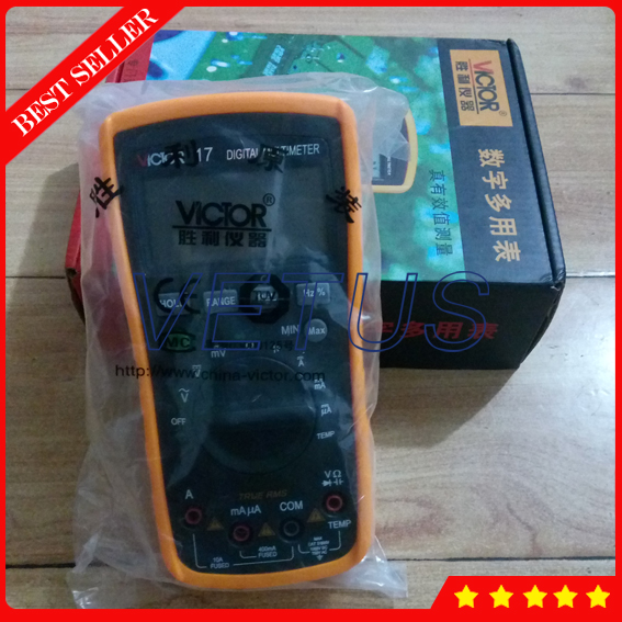 VC17 Avometer with DC AC Voltage Current Resistance Back Light clamp meter (analog stick) hp 870m capacity measuring instruments with dc ac voltage current resistance back light