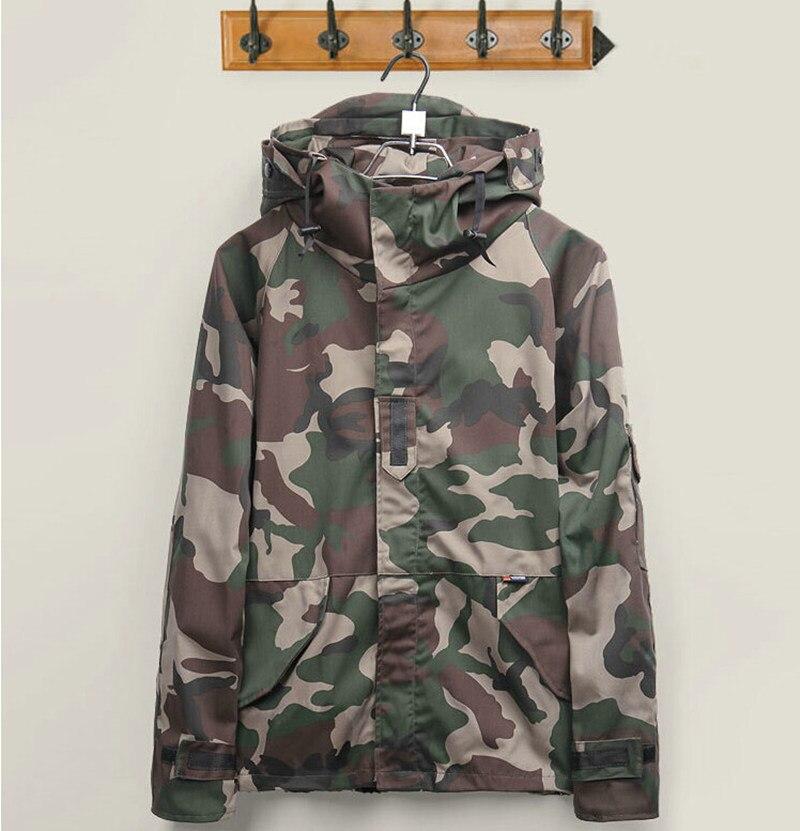 Brand Harajuku Skateboard Camouflage Camouflage Jackets font b Men b font Women Lovers Windbreaker Windproof font