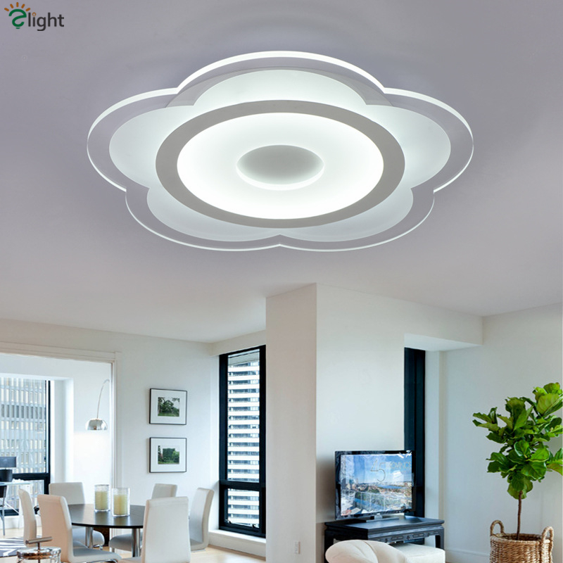 modern bedroom lighting ceiling. aliexpresscom buy post modern led chip lighting ceiling lamp thin acrylic dimmable light flower design bedroom from reliable n