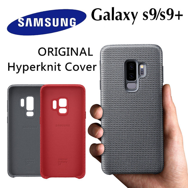 finest selection 89310 2e0cd US $28.43 21% OFF|Original Samsung Hyperknit Cover Case EF GG960 for Galaxy  S9 S9 PLUS + Sporty Lightweight Protection Case Red Grey Anti knock -in ...