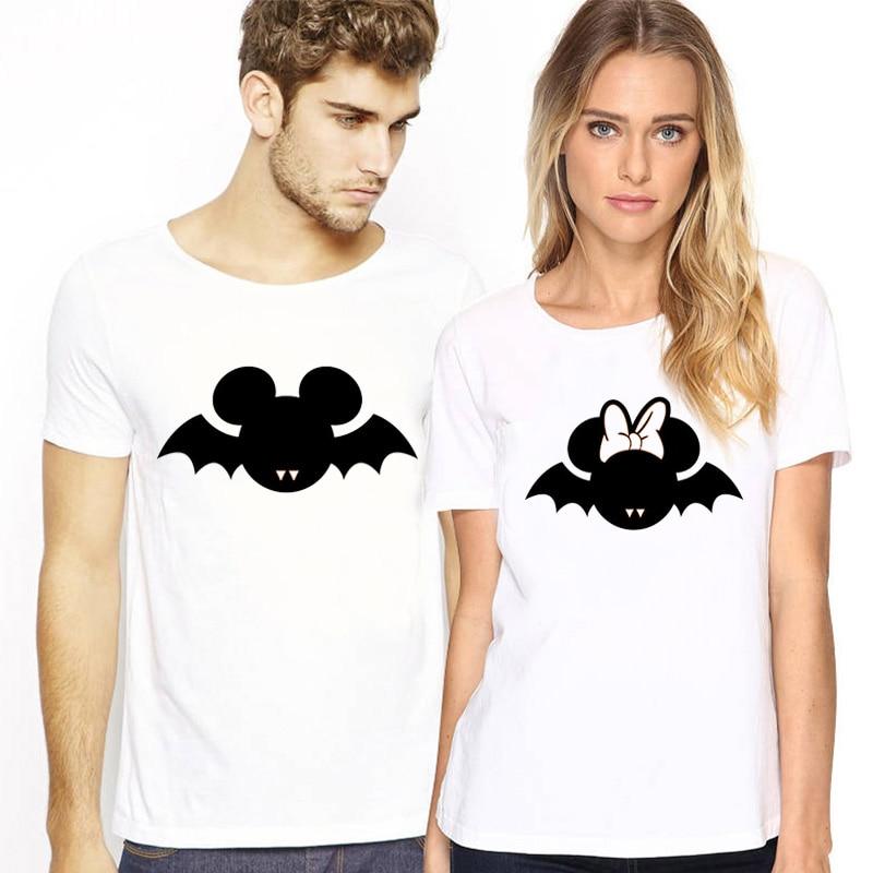 Matching Couple Lovers Ζευγάρια T-shirt Χαριτωμένο - Γυναικείος ρουχισμός - Φωτογραφία 4